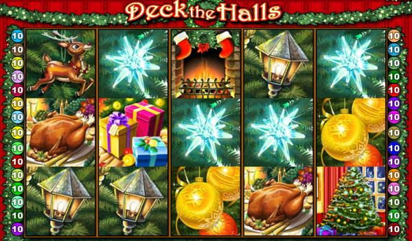 deck the halls slot review
