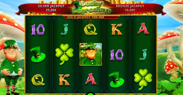 How to play lucky leprechaun slot online