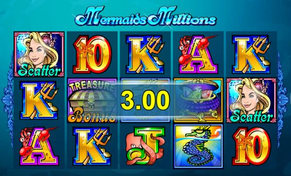 Win at mermaids millions slot